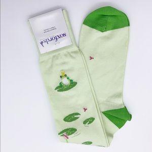Soxfords Frog Legs Knee High Dress Socks